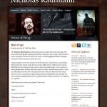 Author Nicholas Kaufmann